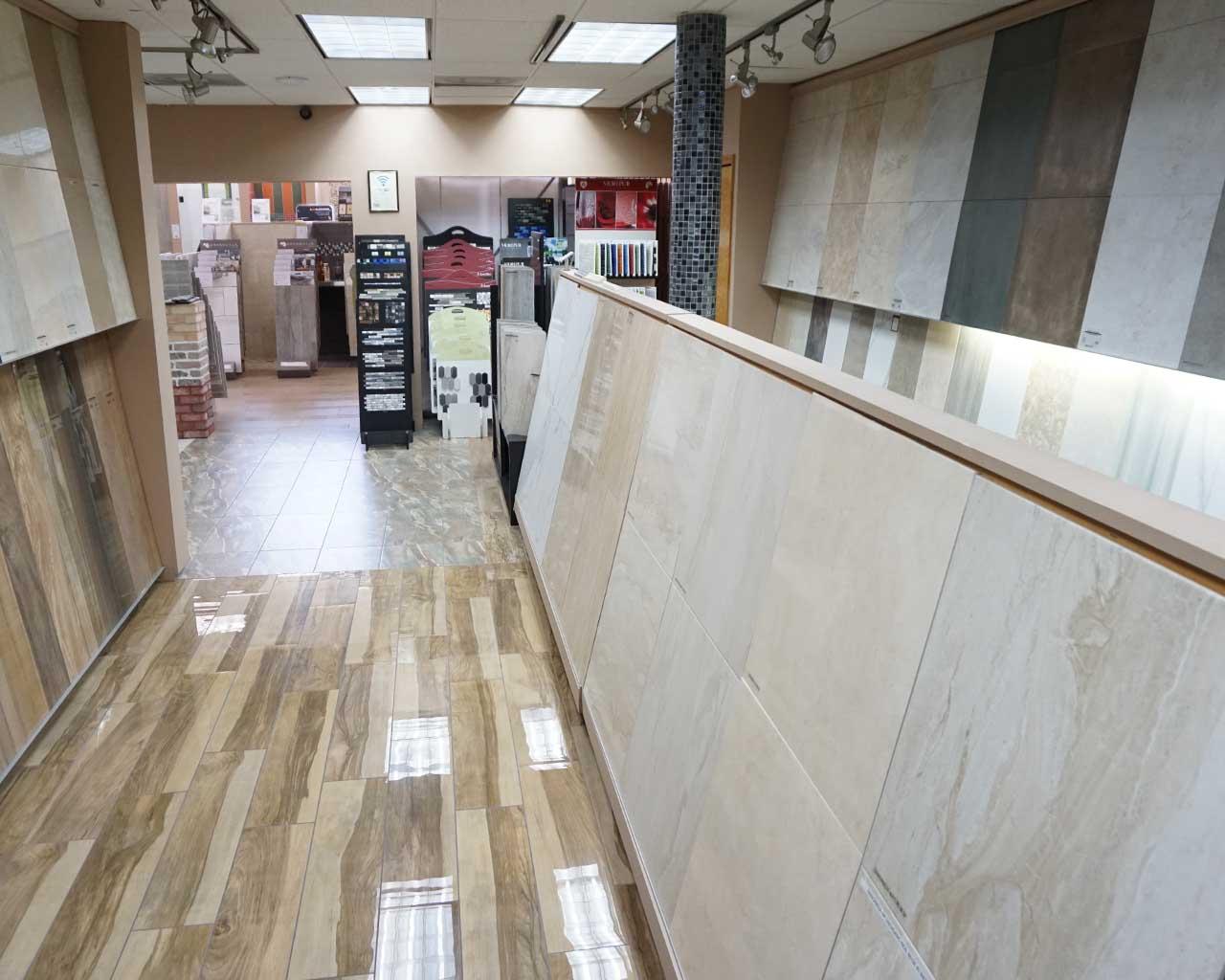 ein Fliesen-Showroom eines großen US-Distributors in Hialeah