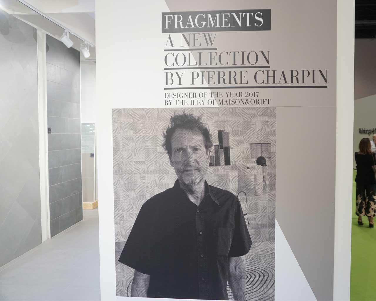 """Der Designer Pierre Charpin hat die neue Serie """"Fragments"""" mitentwickelt"""