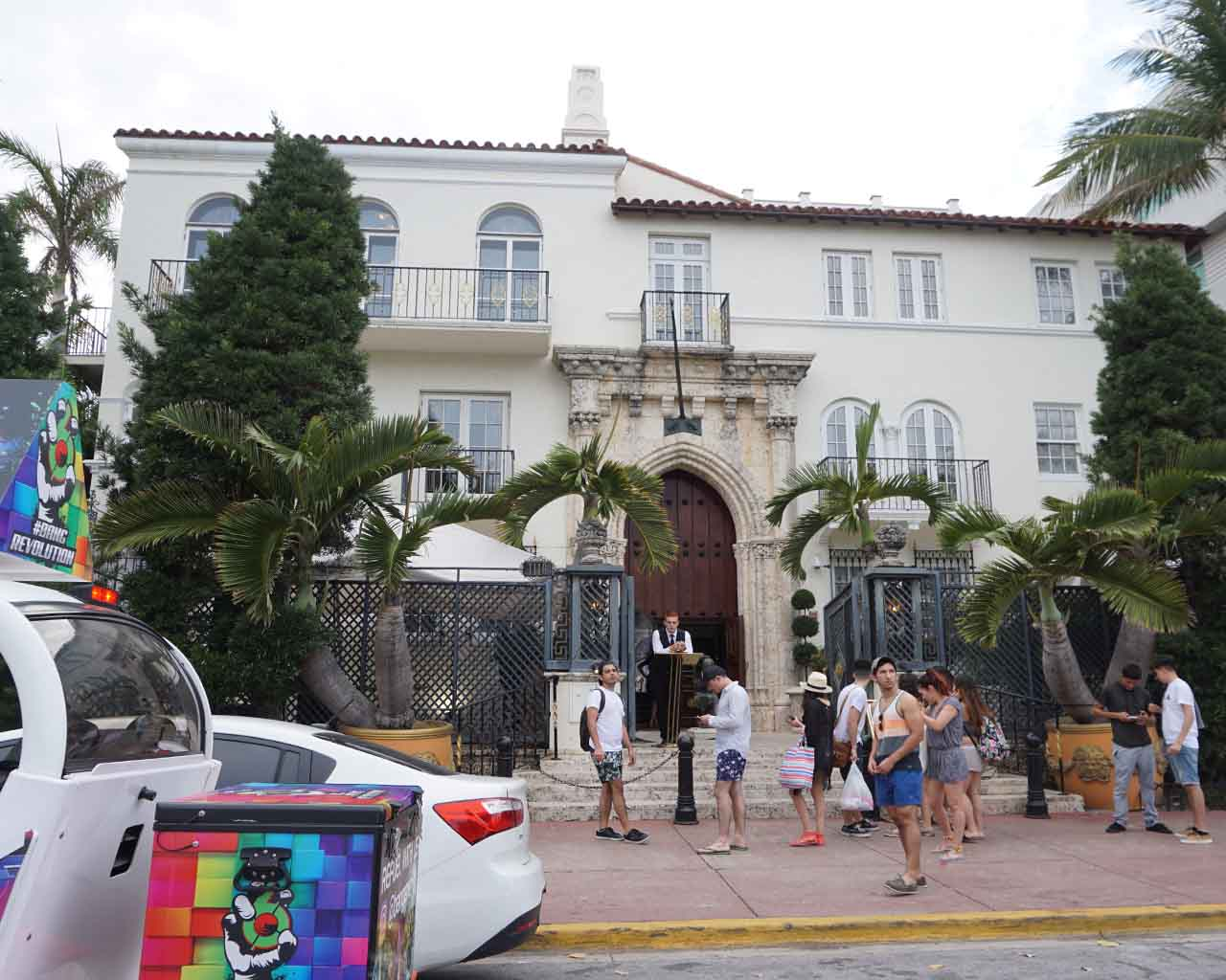 Casa Casuarina - das ehemalige Wohnhaus von Versace (Ocean Drive 1116, Miami Beach)