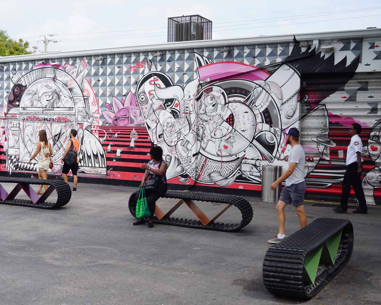 Street Art von How&Nosm in Wynwood
