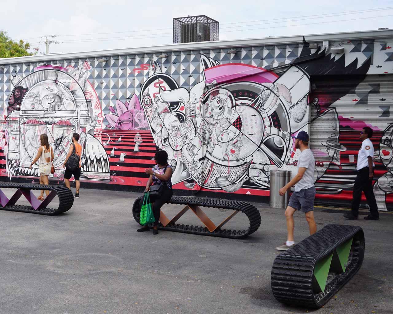 Street Art von How&Nosm in Wynwood
