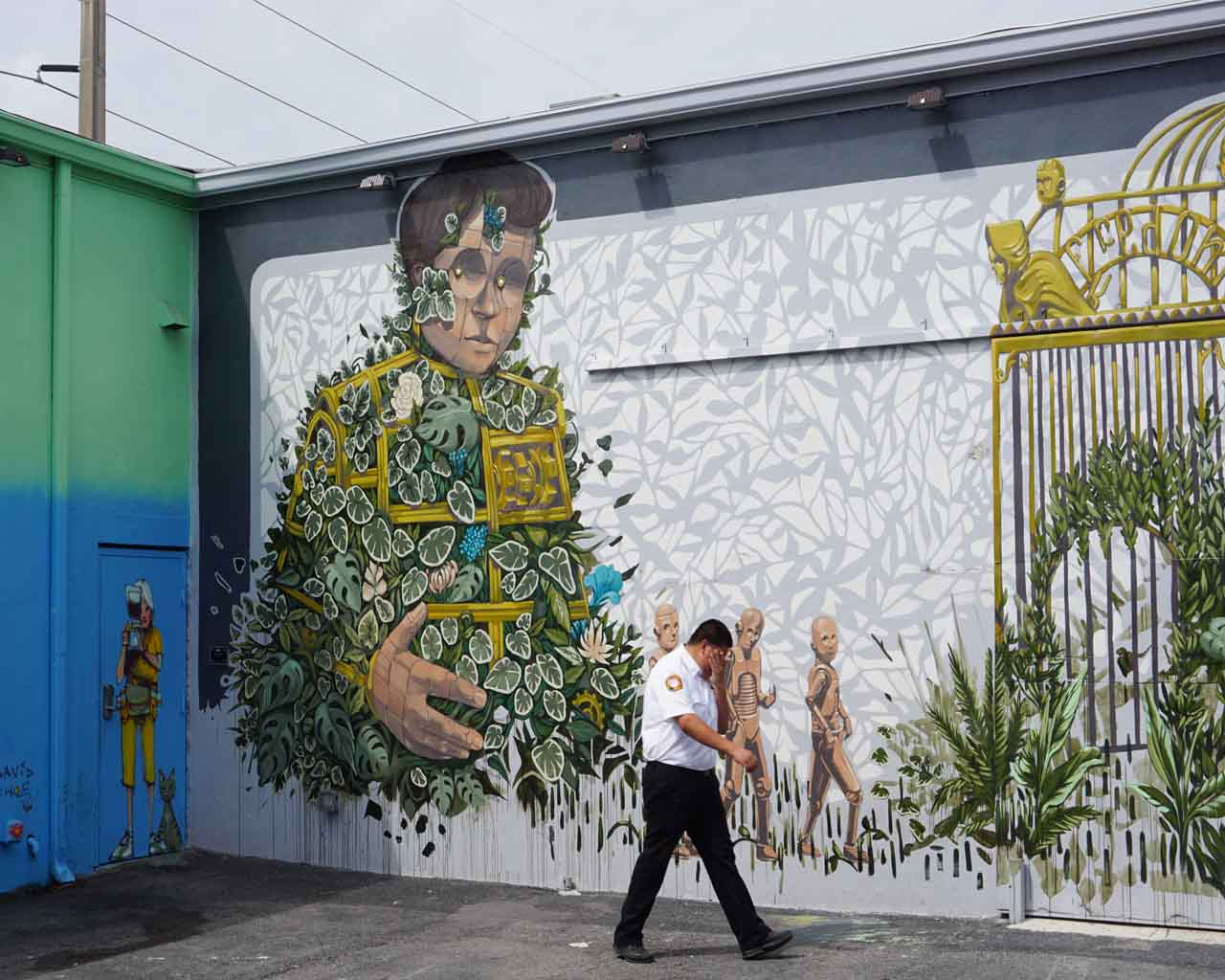 Urban Art in Wynwood Walls