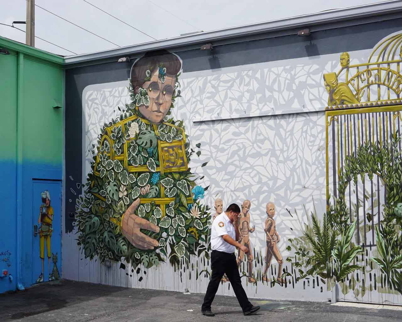 Urban Art in Wynwood Walls