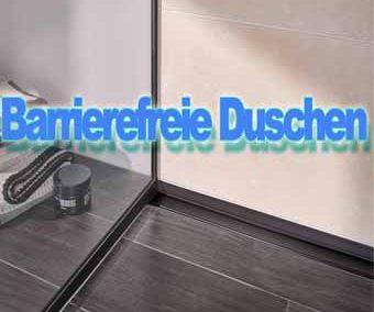 Barrierefreies Duschen