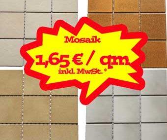 Mosaik zum Sonderpreis!