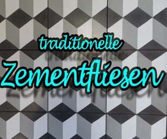 Zementfliesen