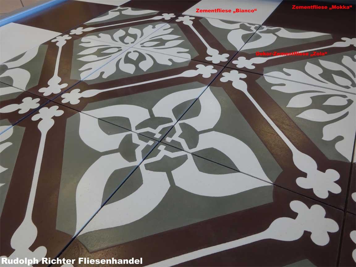 Präsentation Unseres Zementfliesen Sortiments In Unserer Ausstellung In  Iserlohn