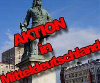 Sonderaktion in Mitteldeutschland