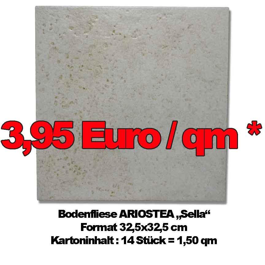 """Bodenfliese ARIOSTEA """"Sella"""", Format 32,5x32,5cm zum Sonderpreis"""