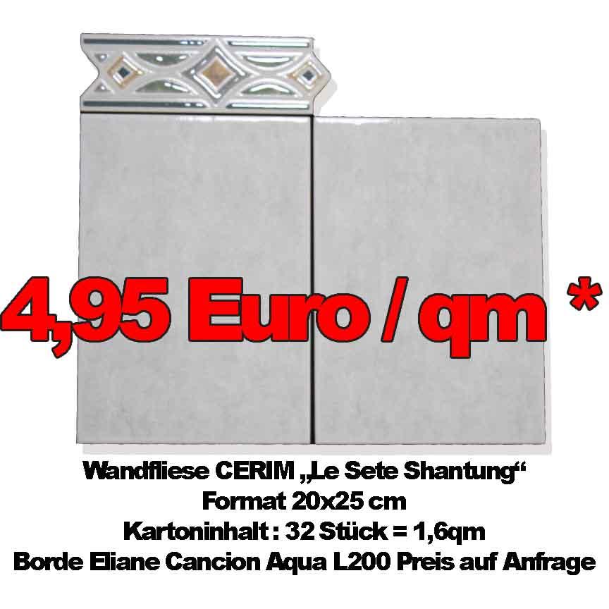 """Markenfliese CERIM """"Shantung"""", Format 20x25cm"""