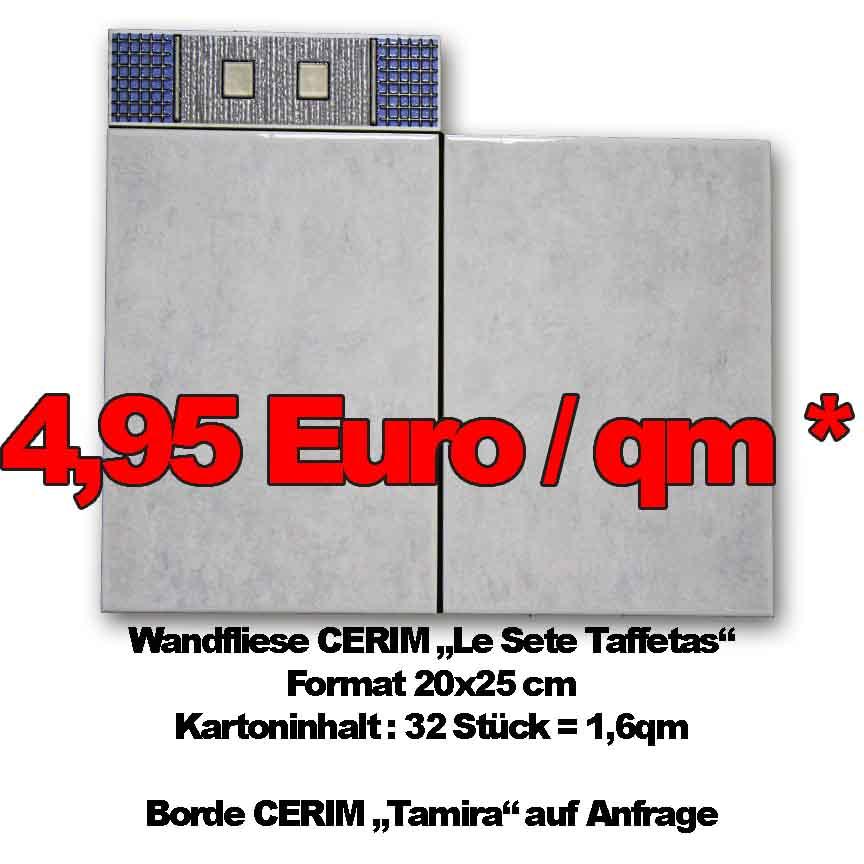 Markenfliesen von CERIM aus Italien