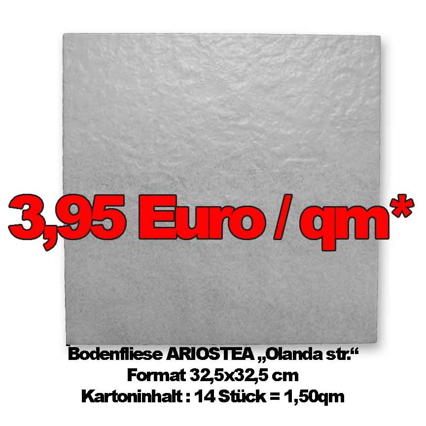 "Bodenfliese ARIOSTEA ""Olanda str."", Format 32,5x32,5cm zum Sonderpreis"