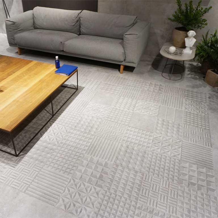 3D-Dekore auch für den Boden