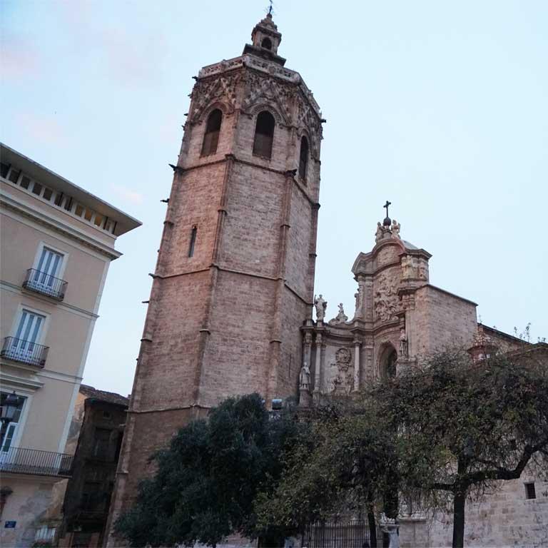 Torres de Migueletes in der Altstadt von Valencia