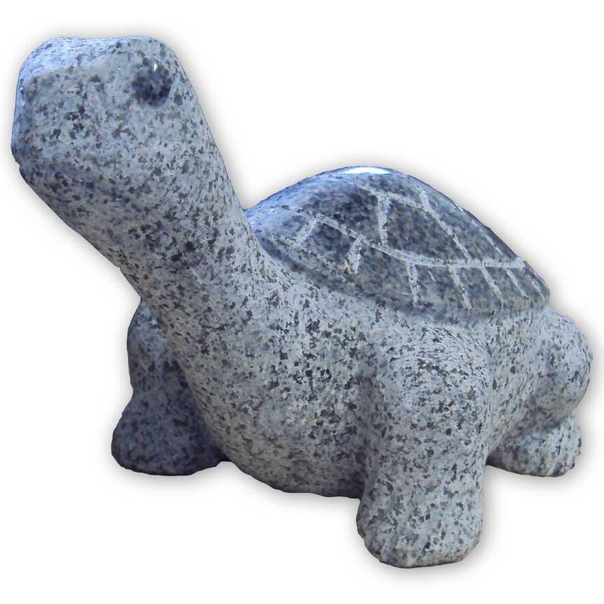 Bei uns finden Sie auch Tierfiguren aus Granit als Dekoration für Ihren Garten