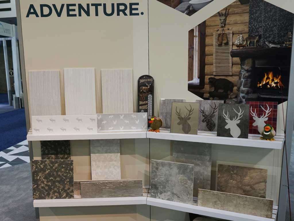British Ceramic Tiles bläst auf der COVERINGS 2018 in Atlanta zur Jagd