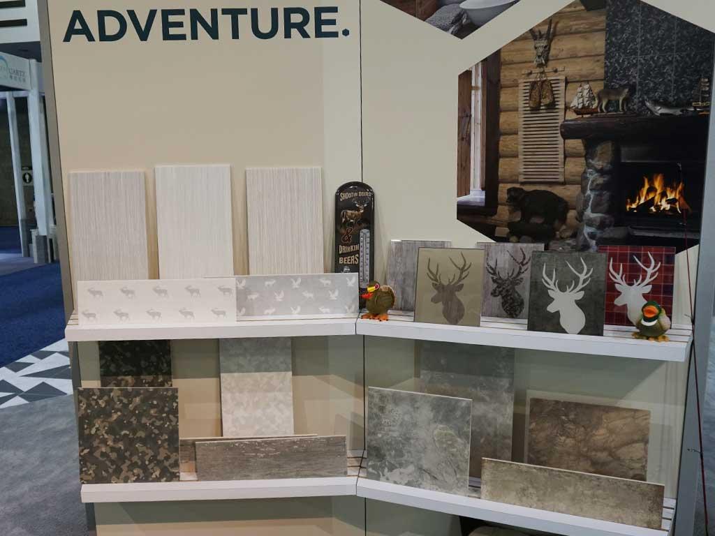 British Ceramic Tiles bläst auf der COVERINGS 2018 in Atlanta zur Jagd