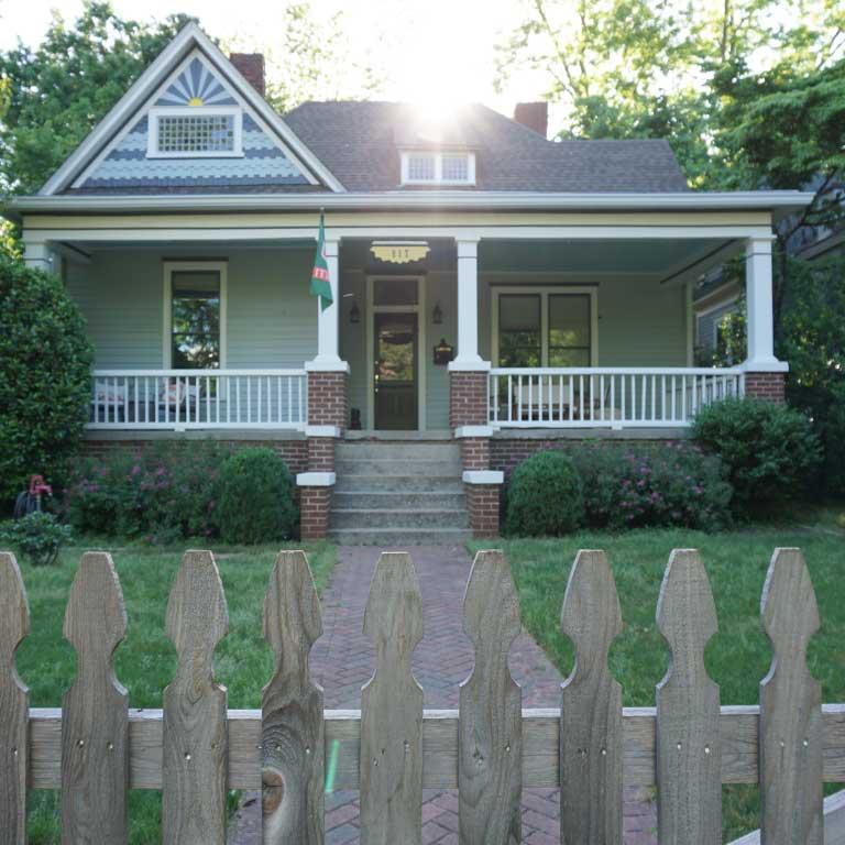 Rick`s Haus in Atlanta - Drehort von The Walking Dead