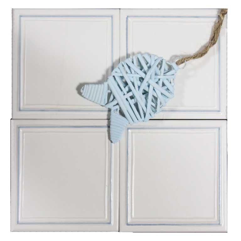 Wandfliesen im Friesen-Design für den Küchenspiegel