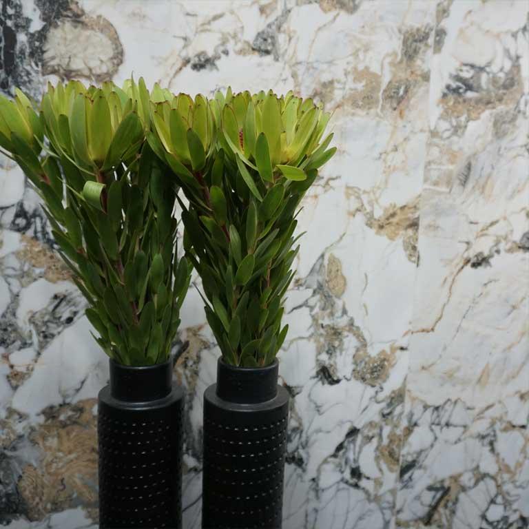 Zurück zur Natur : Natursteinoptik mit Inkjet-Technologie produziert