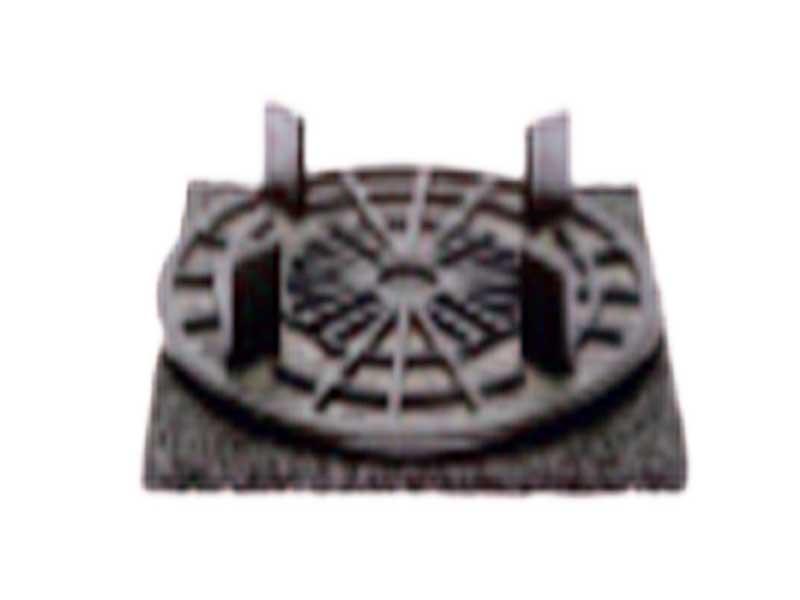 Solidor Plattenlager RC 10 mit der Auflageplatte C3/4T