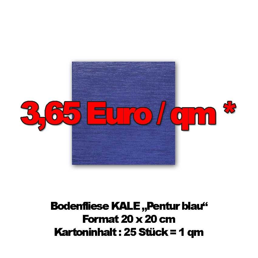 """Bodenfliese KALE """"Pentur blau"""""""