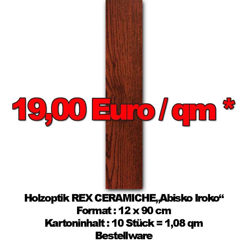 Holzoptik REX Abisko Iroko zum Sonderpreis