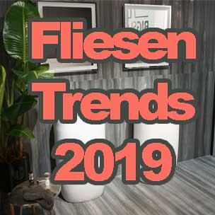 Fliesen-Trends 2019