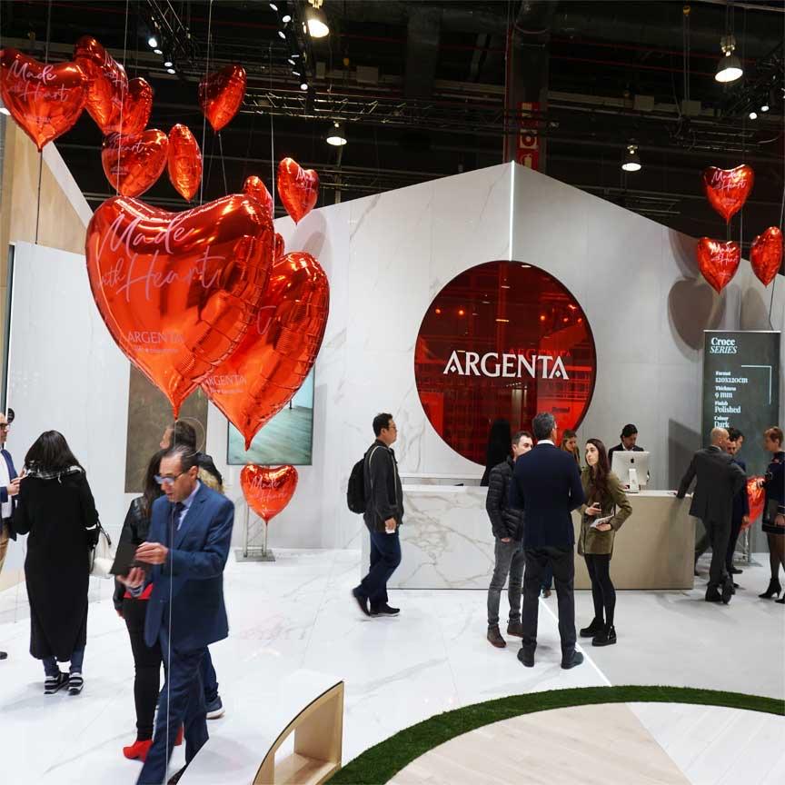 sehr herzlich bei Argenta : Made with Heart