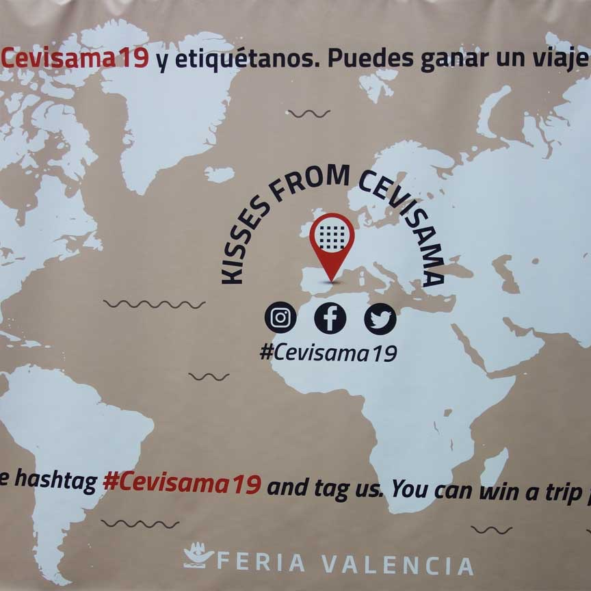 #CEVISAMA 2019 - Kisses from CEVISAMA