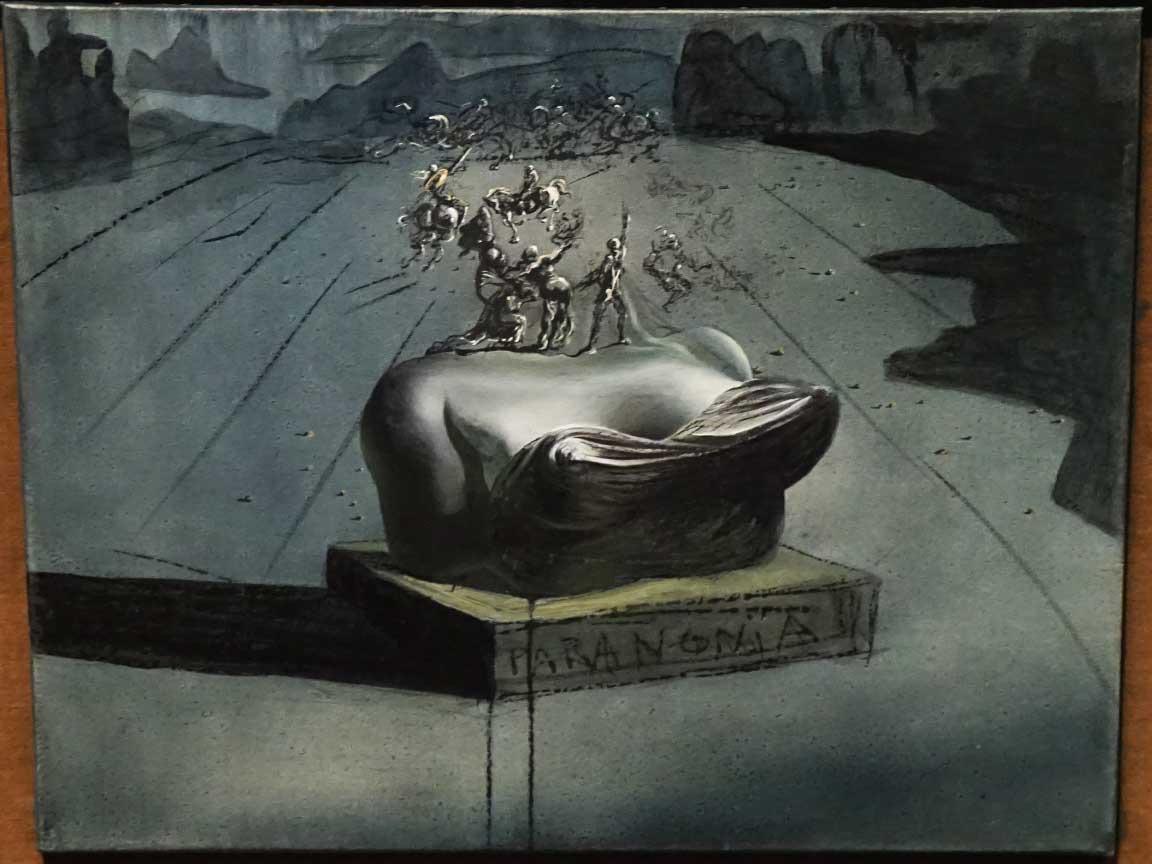 """Wir haben in Saint Petersburg natürlich auch das Dali Museum besucht; hier das Kunstwerk """"Paranoia"""" aus dem Jahr 1935/36"""