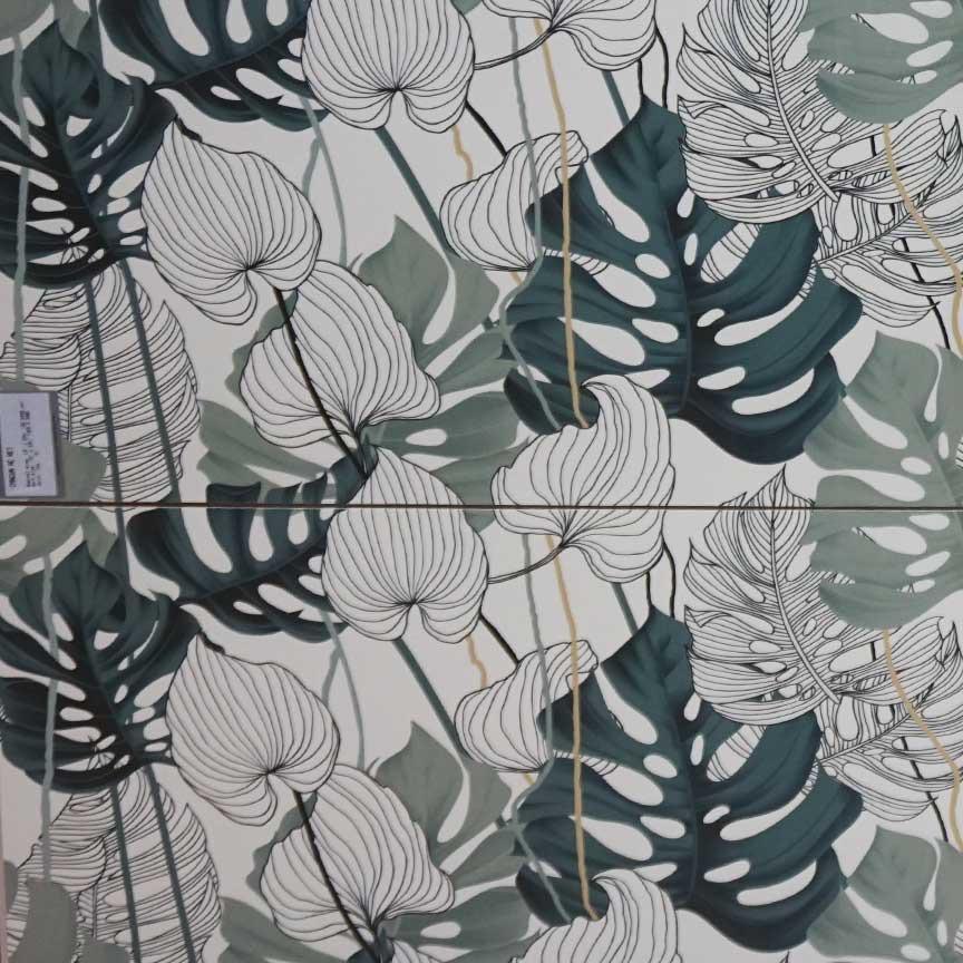 Schon bald in unserer Fliesenausstellung in Essen und Iserlohn : Dekore mit dem Urban Jungle Thema