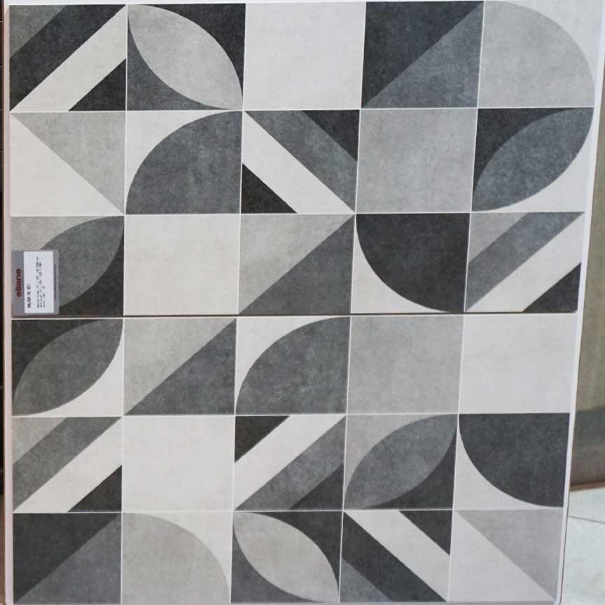Dieses schöne geometrische Dekor in einer Zementfliesen-Optik werden Sie schon bald in unserer Fliesenausstellung in Essen und Iserlohn finden !
