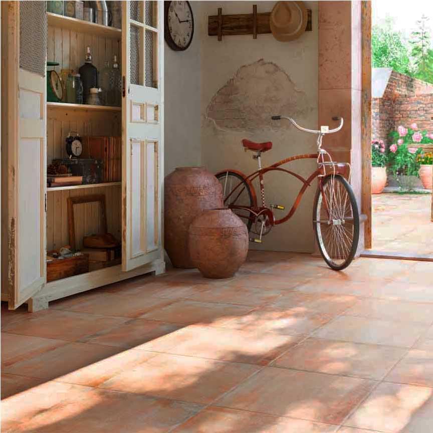 Terracotta steht für Sommer, angenehme Wärme, Gemütlichkeit, Urlaubserinnerungen
