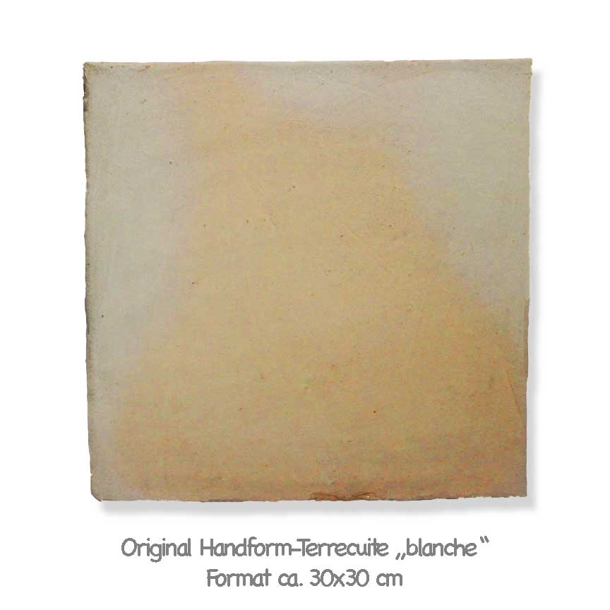 Original Terrecuite blanche aus Frankreich