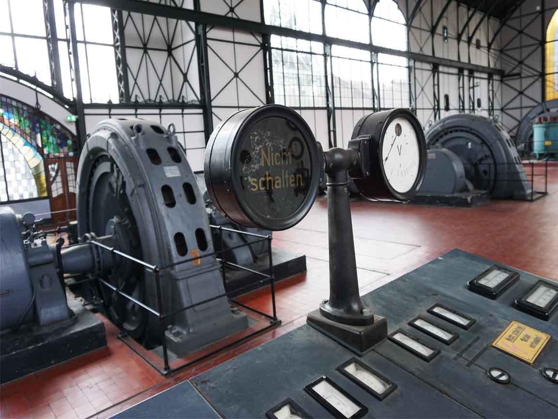 Zeche Zollern in Dortmund : Industrial Chic im Original