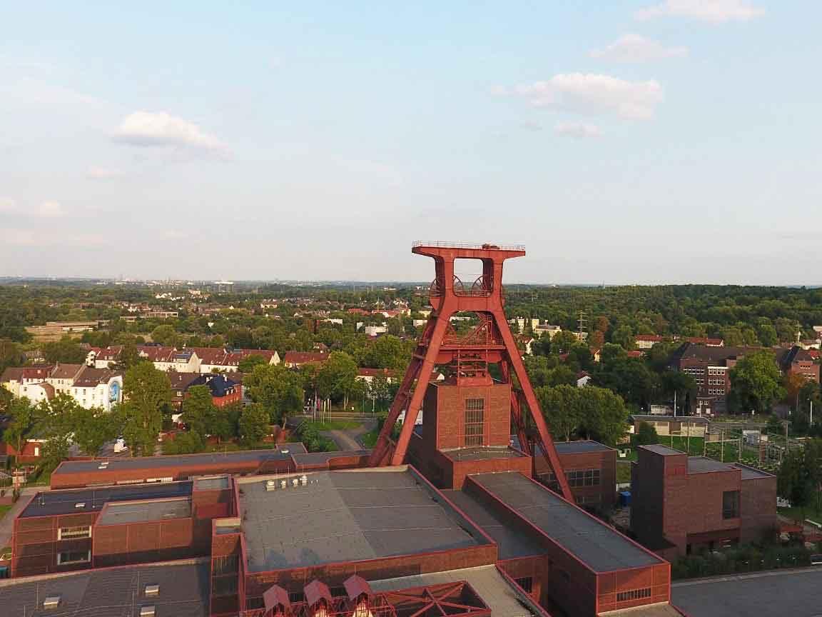 UNESCO-Weltkulturerbe : Zeche Zollverein in Essen