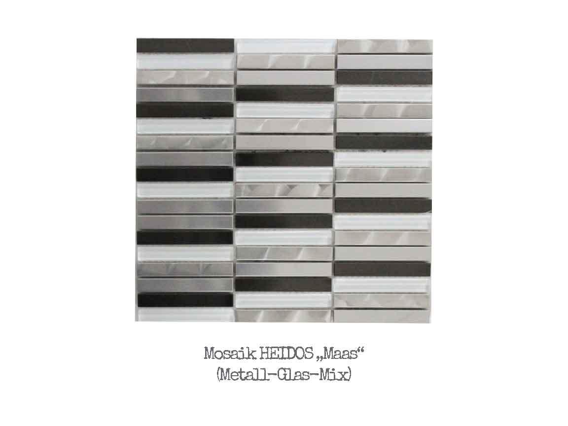 """Metalloptik-Mosaik HEIDOS """"Maas"""""""