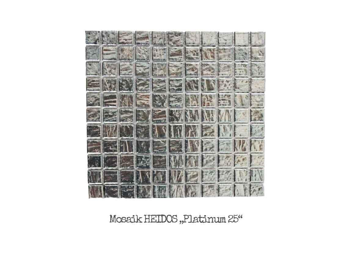 Metalloptik-Mosaik HEIDOS Platinum