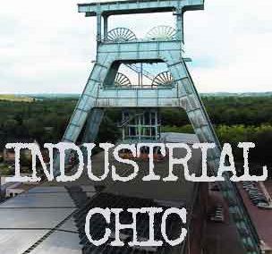 Industrial Chic mit Metallfliesen