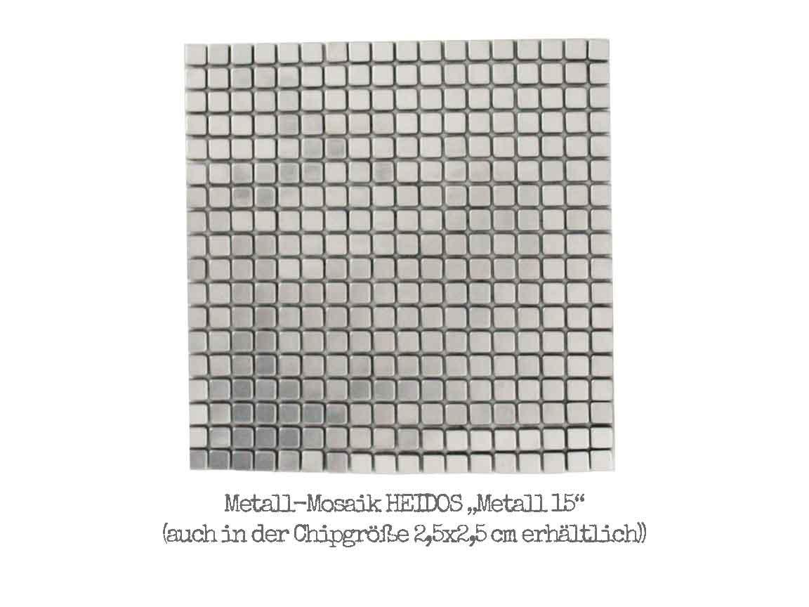 """Metalloptik-Mosaik HEIDOS """"Metall15"""""""