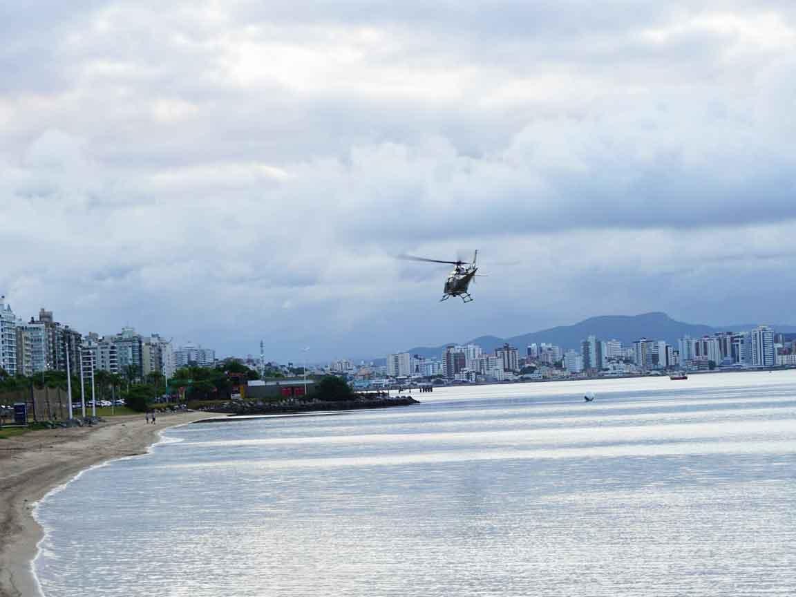 Der Strand von Florianopolis