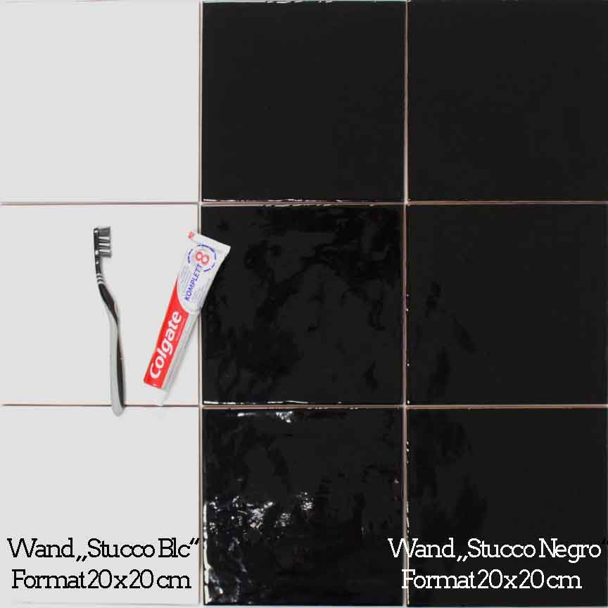 """Wandfliesen-Serie """"Stucco"""" im Format 20x20cm"""