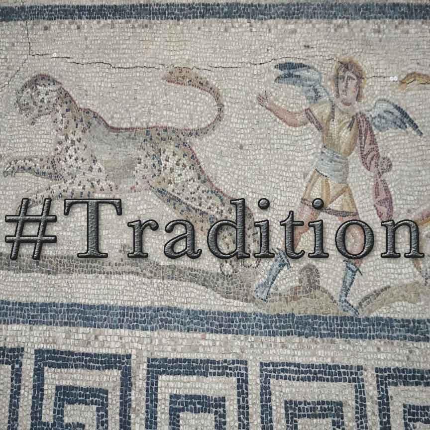 Orpheus Mosaik im Pergamonmoseum in Berlin