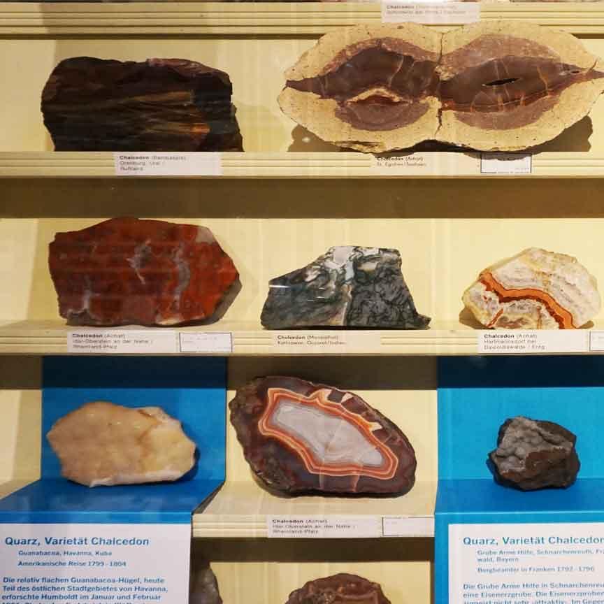 Besuch der Mineralienabteilung im Naturkundemuseum in Berlin