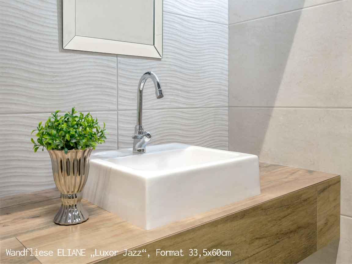 "3D-Wandfliese ELIANE ""Luxor Jazz"", Format 33,5x60cm"