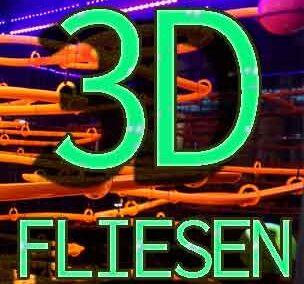 Fliesen mit 3D-Optik